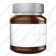 Chocolate Jar 3d model