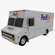 FedEx Truck 3d model