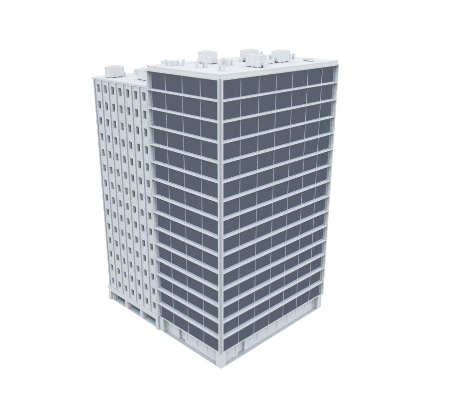 事務所ビル04 royalty-free 3d model - Preview no. 2