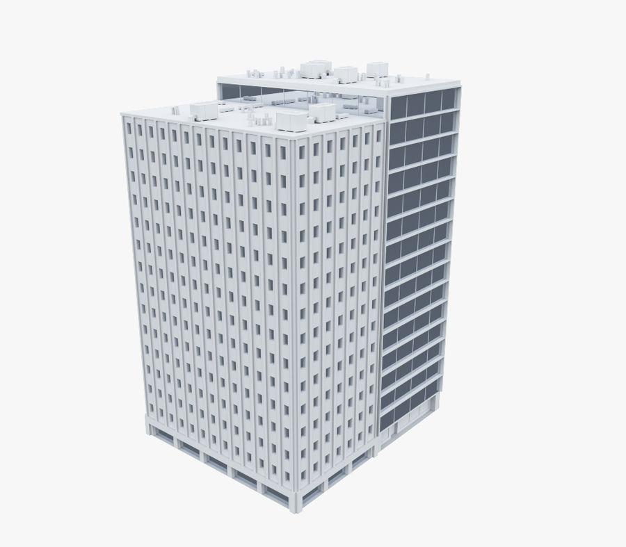 事務所ビル04 royalty-free 3d model - Preview no. 1