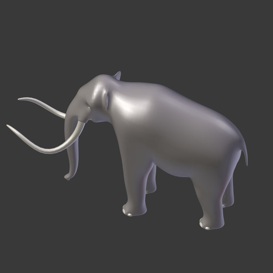 Mammoth royalty-free 3d model - Preview no. 14