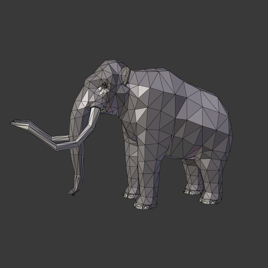 Mammoth royalty-free 3d model - Preview no. 4