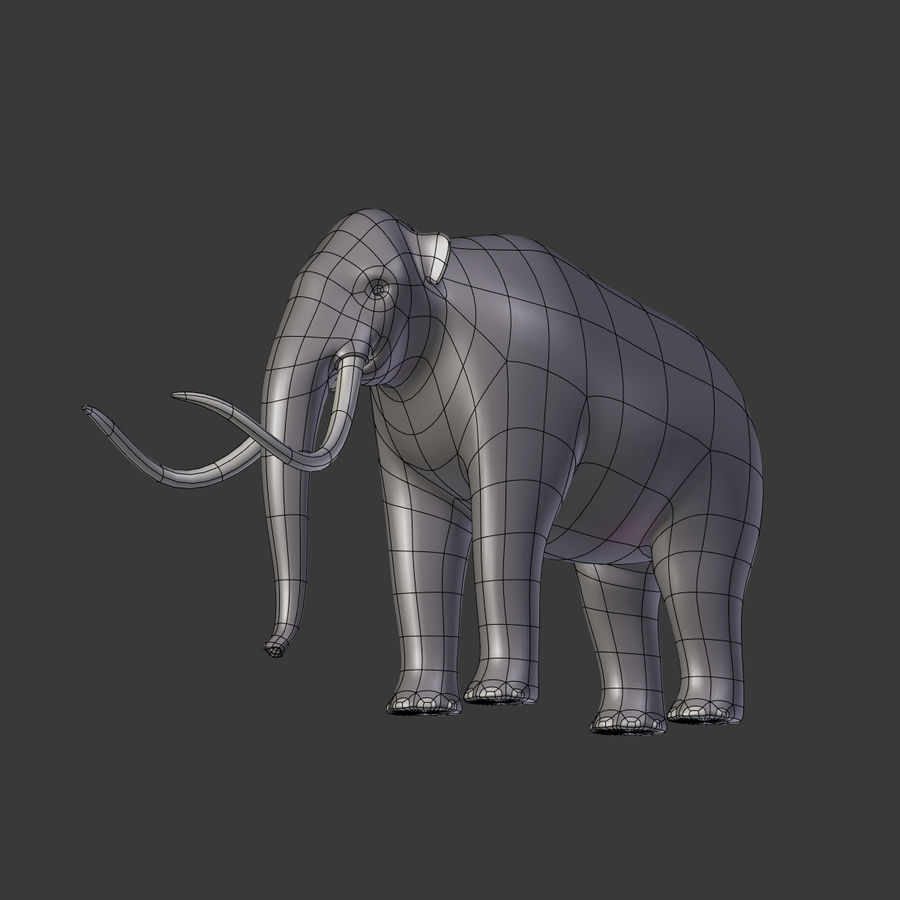 Mammoth royalty-free 3d model - Preview no. 8