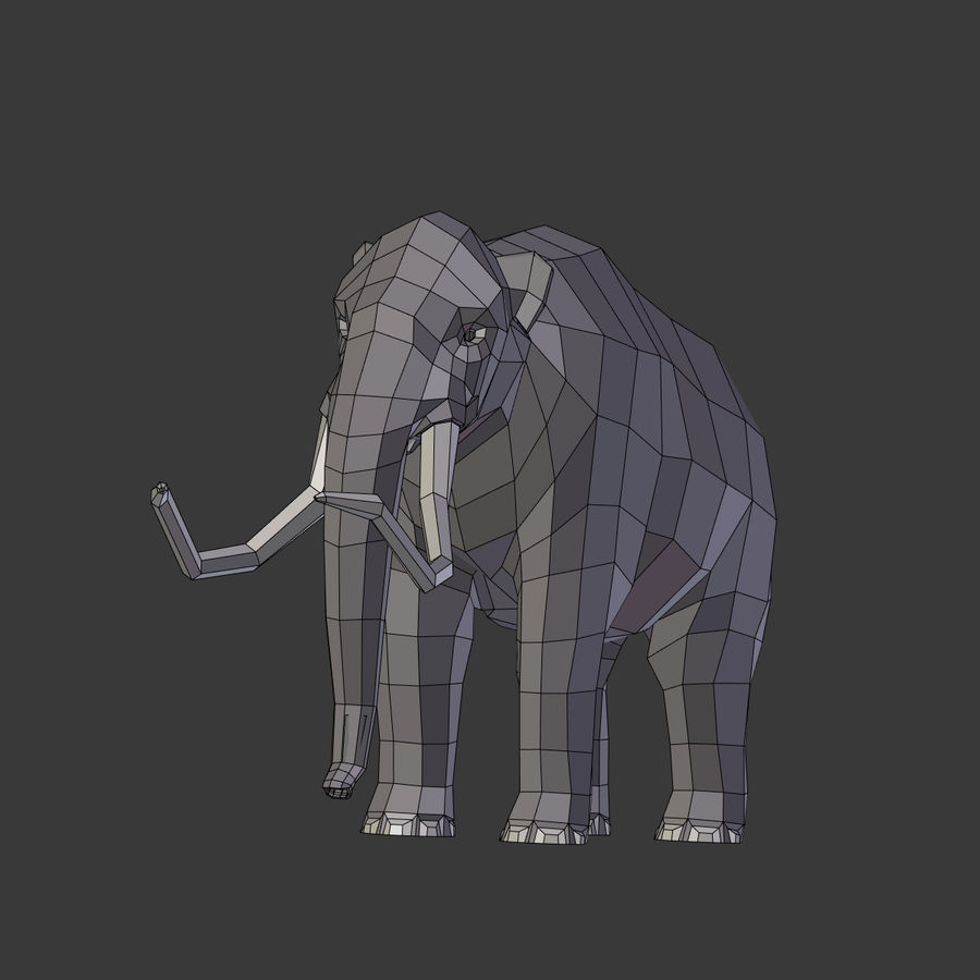 Mammoth royalty-free 3d model - Preview no. 19