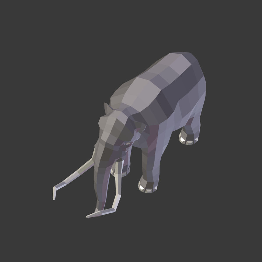 Mammoth royalty-free 3d model - Preview no. 17