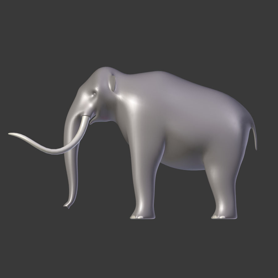 Mammoth royalty-free 3d model - Preview no. 10