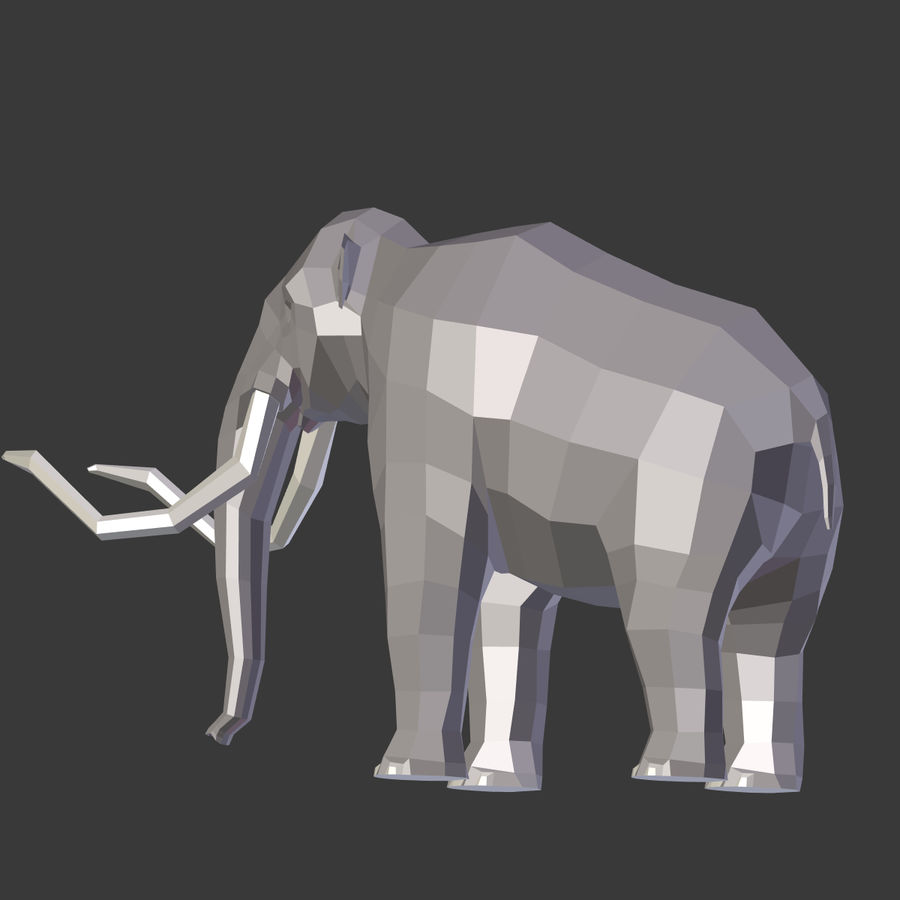 Mammoth royalty-free 3d model - Preview no. 15