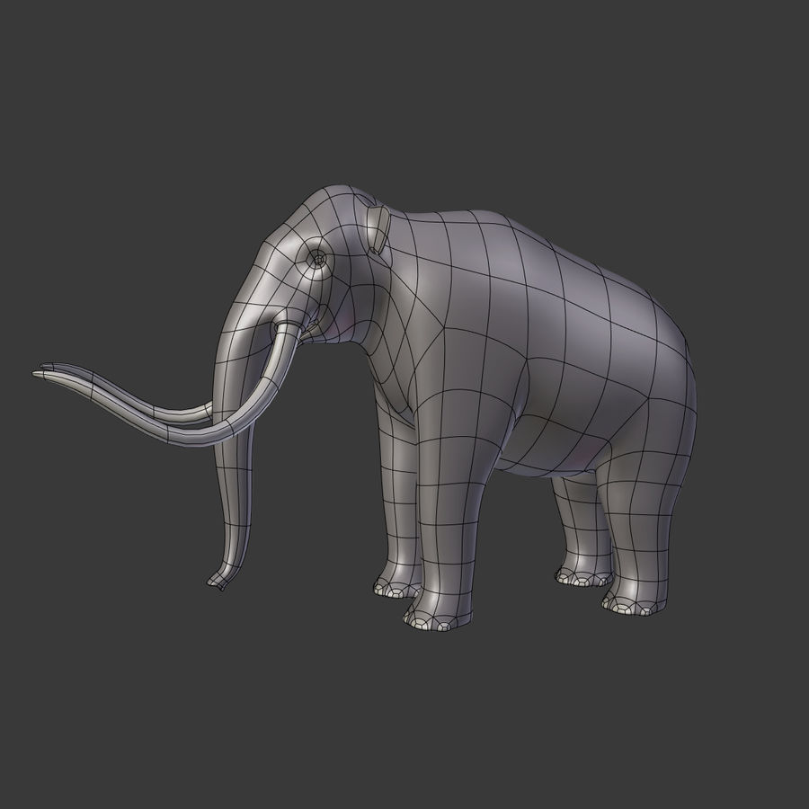 Mammoth royalty-free 3d model - Preview no. 5