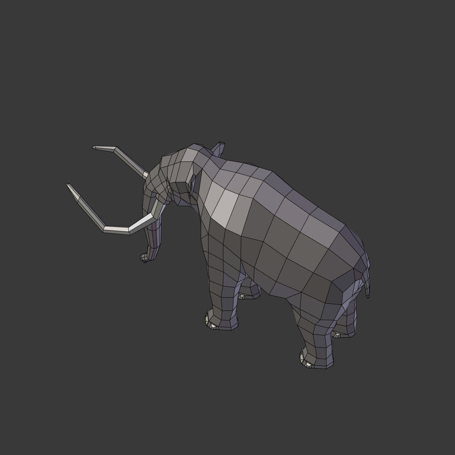 Mammoth royalty-free 3d model - Preview no. 20