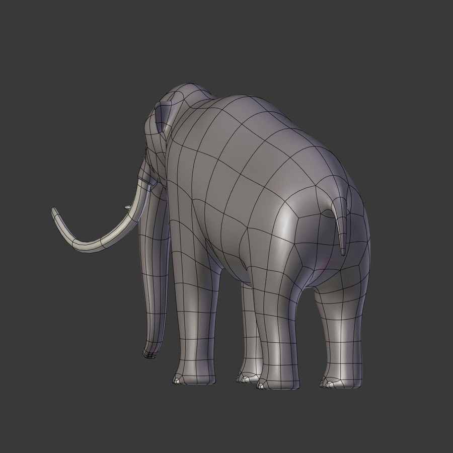 Mammoth royalty-free 3d model - Preview no. 13