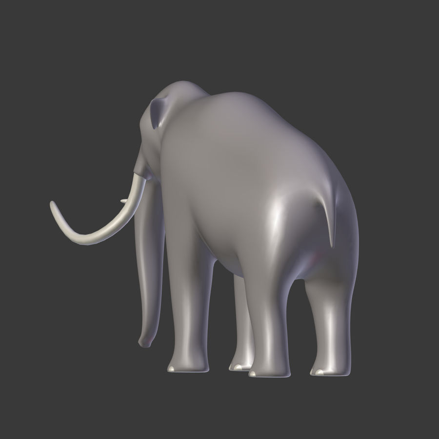Mammoth royalty-free 3d model - Preview no. 12