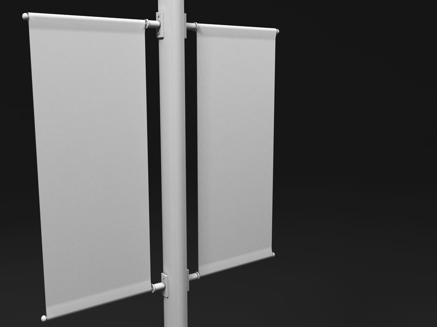 street lamp royalty-free 3d model - Preview no. 6