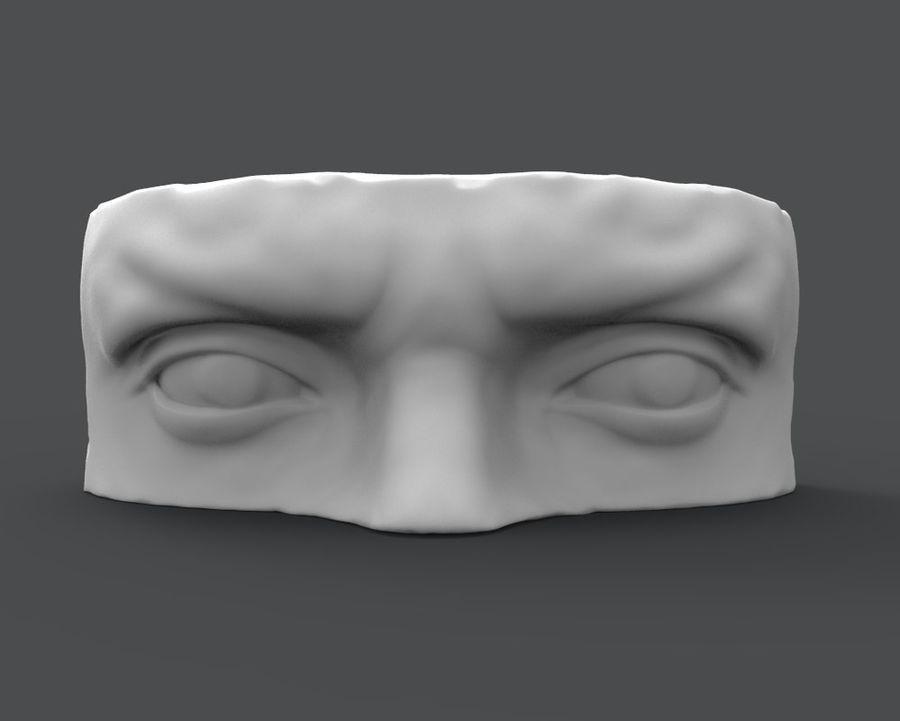 David Eyes royalty-free 3d model - Preview no. 2