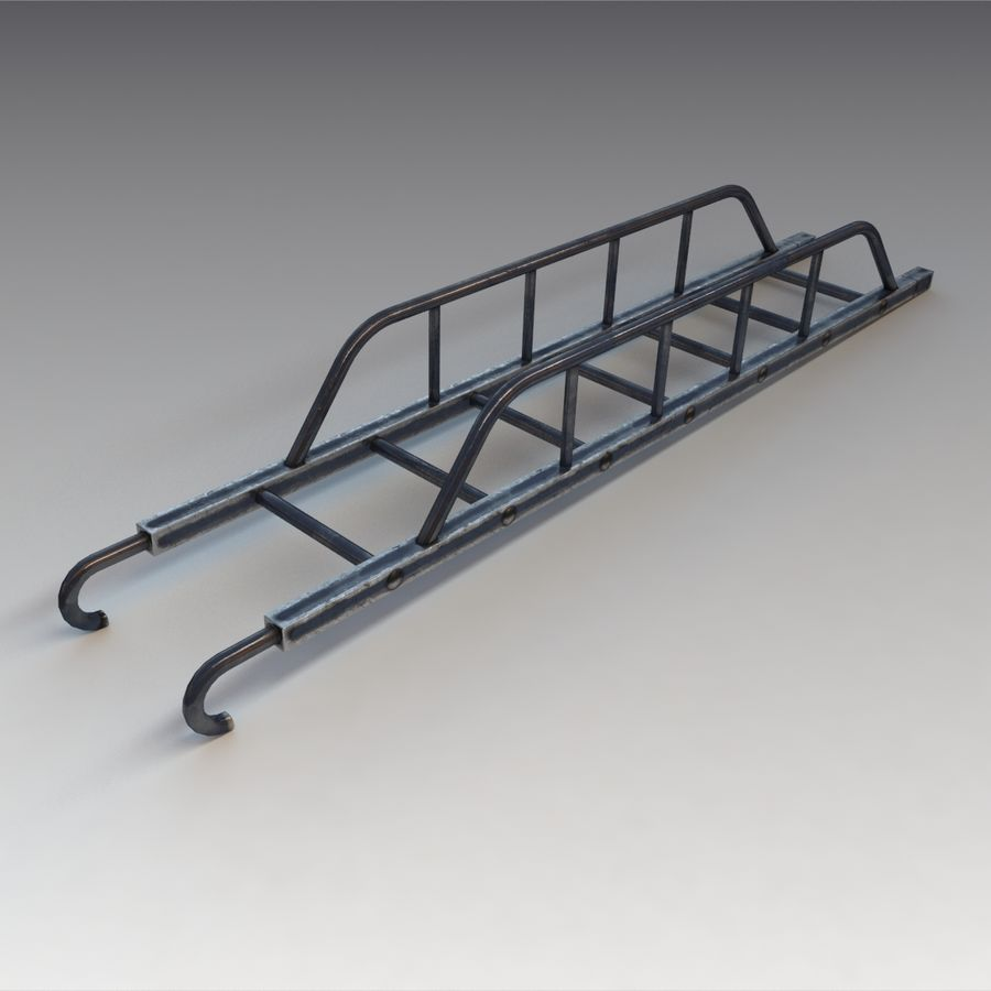 Ladder royalty-free 3d model - Preview no. 4