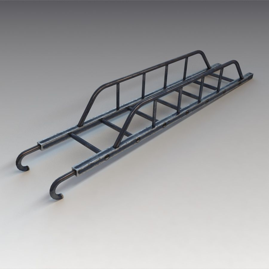 Ladder royalty-free 3d model - Preview no. 3