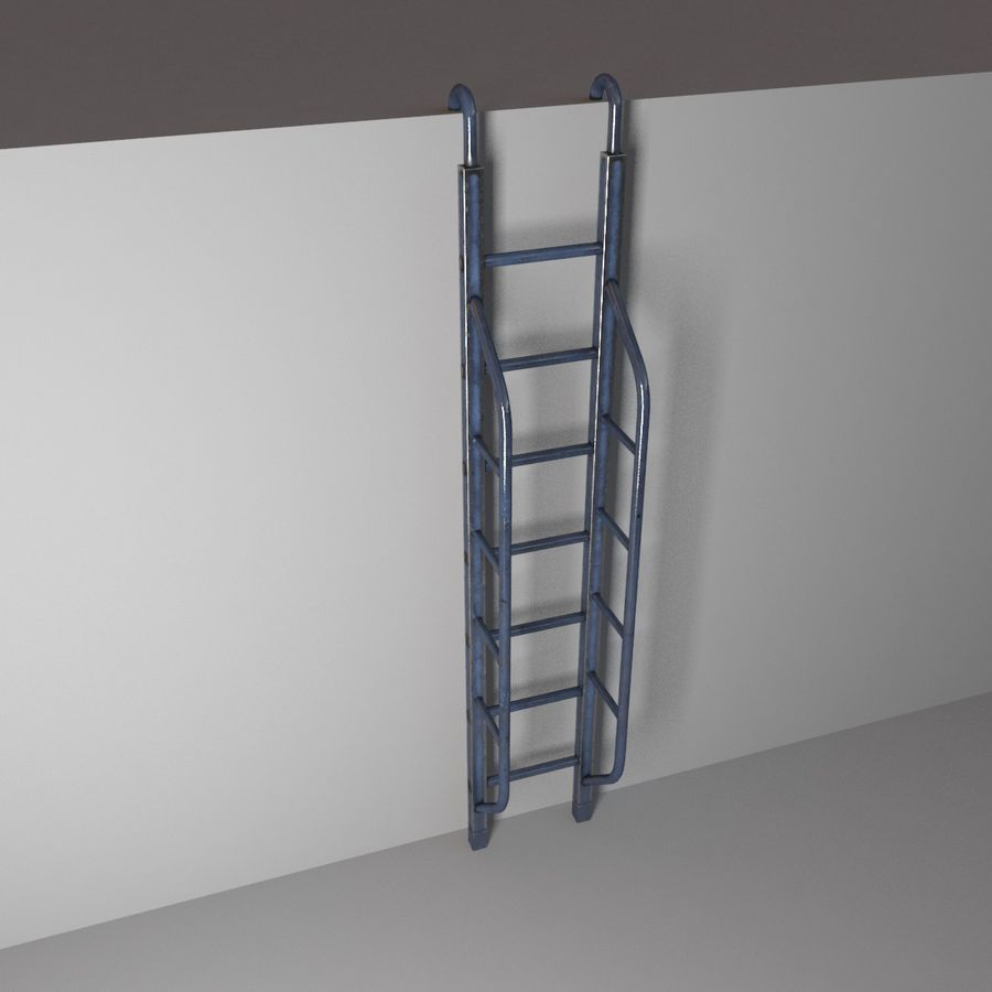 Ladder royalty-free 3d model - Preview no. 5