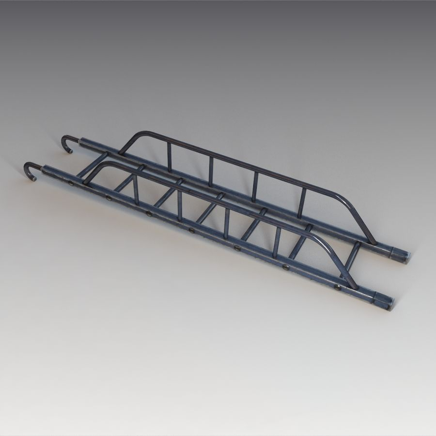 Ladder royalty-free 3d model - Preview no. 2
