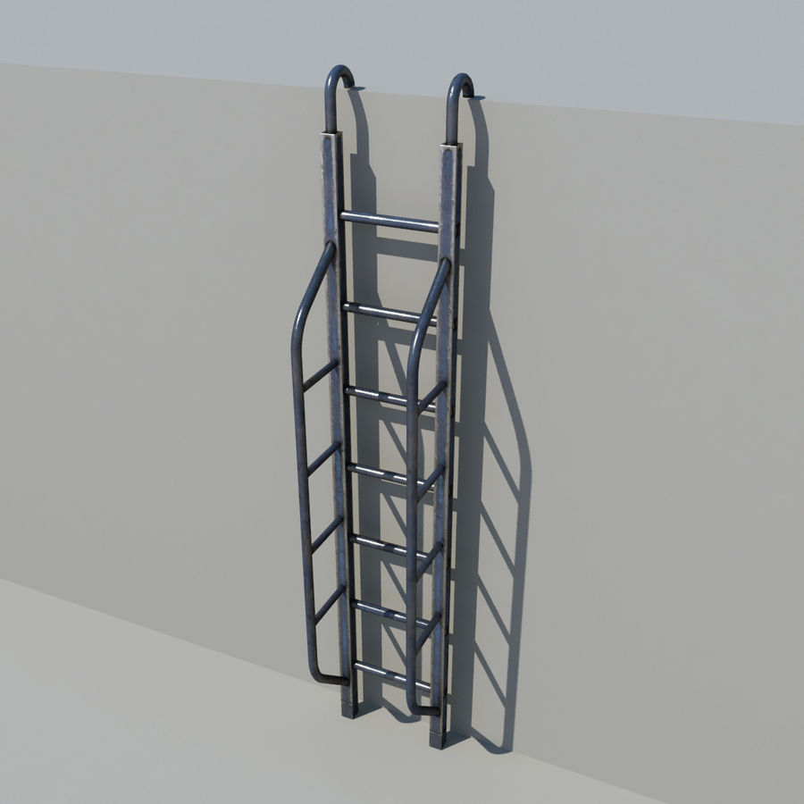 Ladder royalty-free 3d model - Preview no. 6