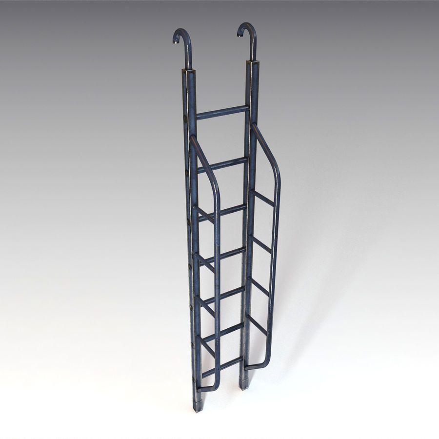 Ladder royalty-free 3d model - Preview no. 1