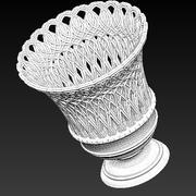 Victorian Cast Iron Garden Urn 3d model
