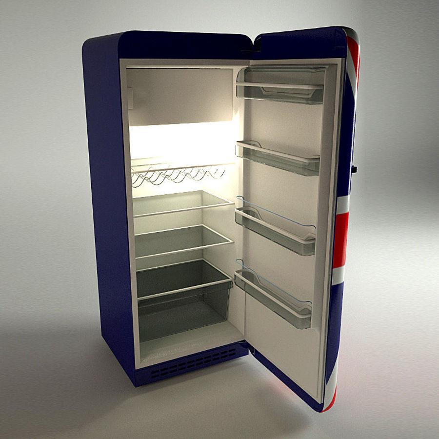 retro fridges royalty-free 3d model - Preview no. 2