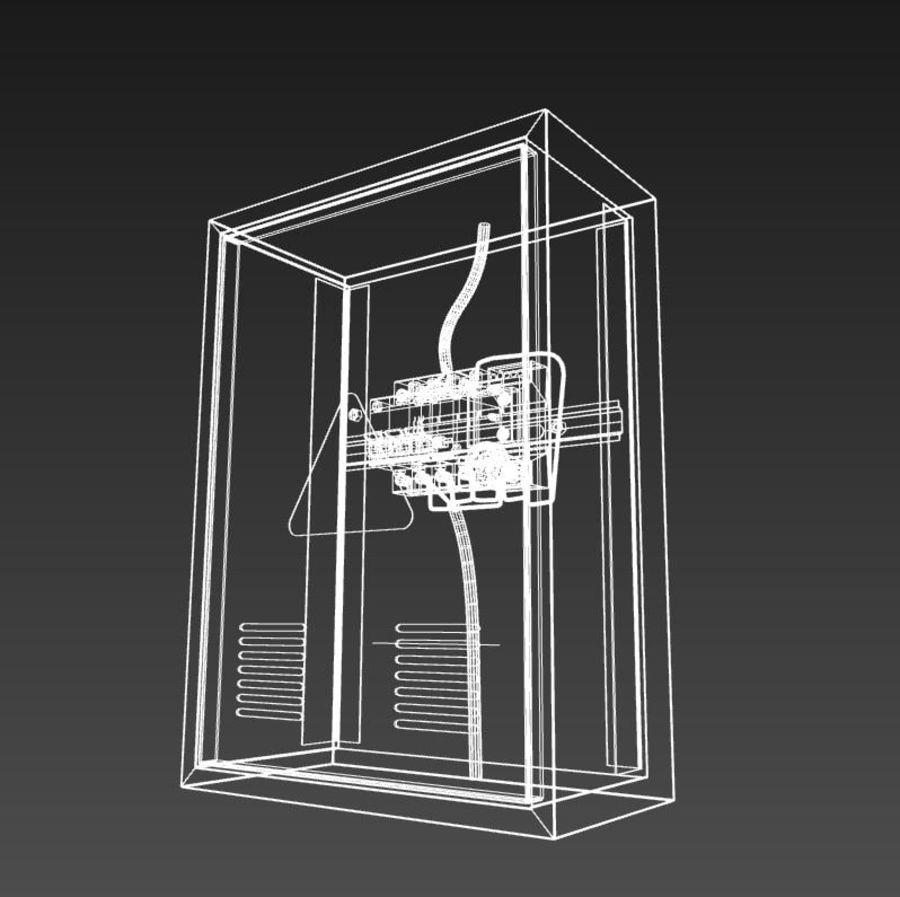 배전반 royalty-free 3d model - Preview no. 7