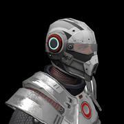 Cybernetist 3d model