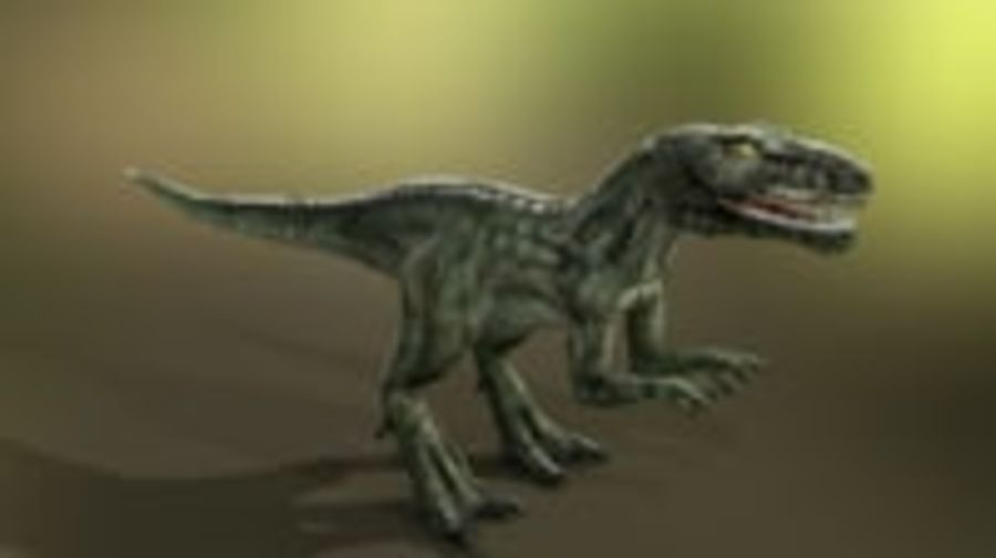 Dinosaur (Random) royalty-free 3d model - Preview no. 5