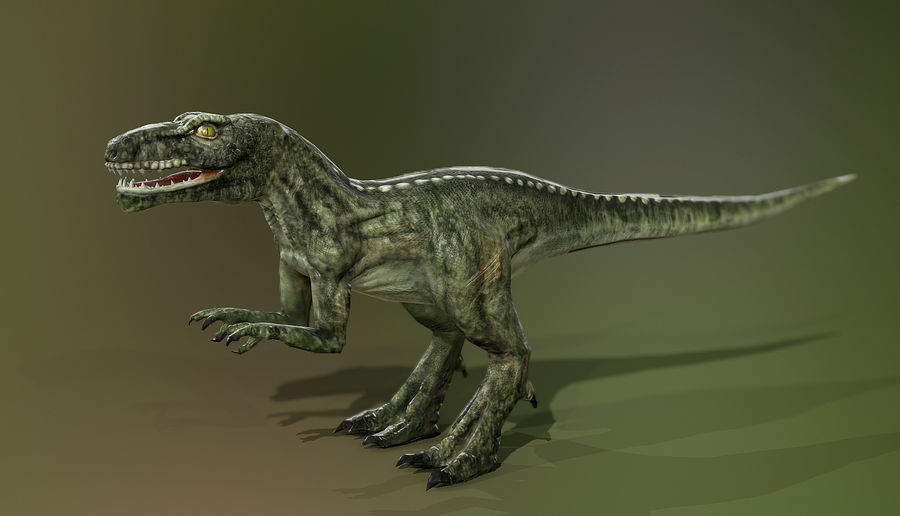 Dinosaur (Random) royalty-free 3d model - Preview no. 4