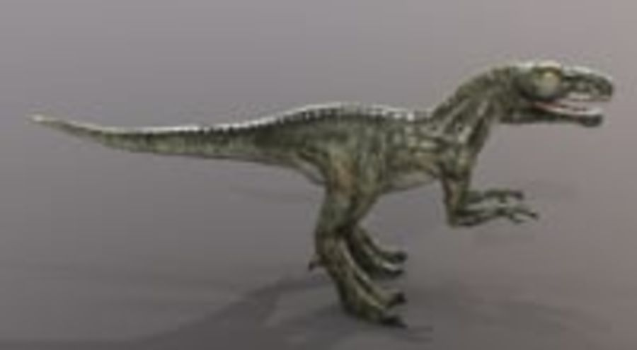 Dinosaur (Random) royalty-free 3d model - Preview no. 3