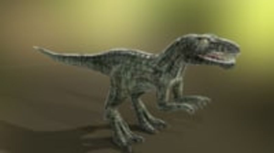 Dinosaur (Random) royalty-free 3d model - Preview no. 6