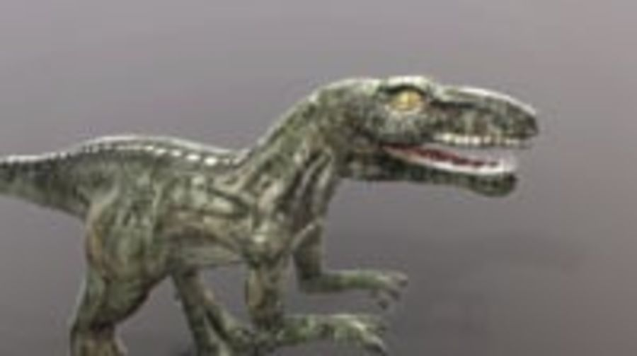Dinosaur (Random) royalty-free 3d model - Preview no. 12