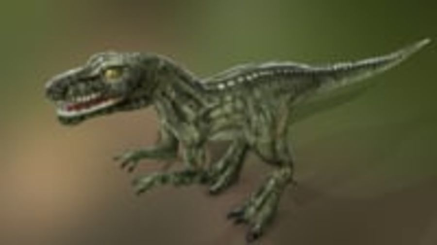 Dinosaur (Random) royalty-free 3d model - Preview no. 7