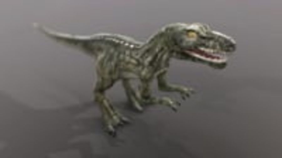 Dinosaur (Random) royalty-free 3d model - Preview no. 2