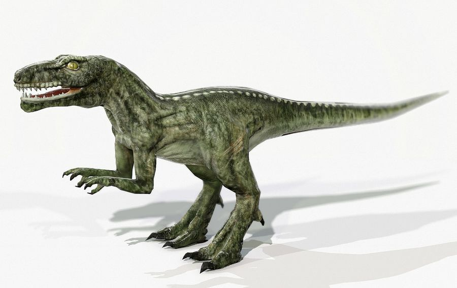 Dinosaur (Random) royalty-free 3d model - Preview no. 1