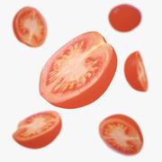 Cherry Tomatoes Half 3d model