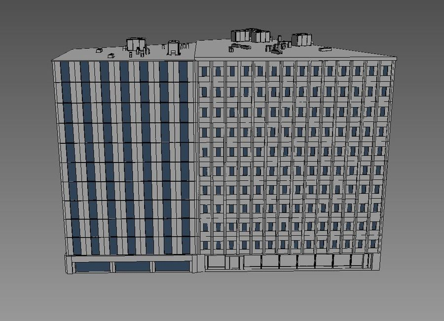 Office Building 06 royalty-free 3d model - Preview no. 5