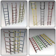 Ladders Collection 3d model