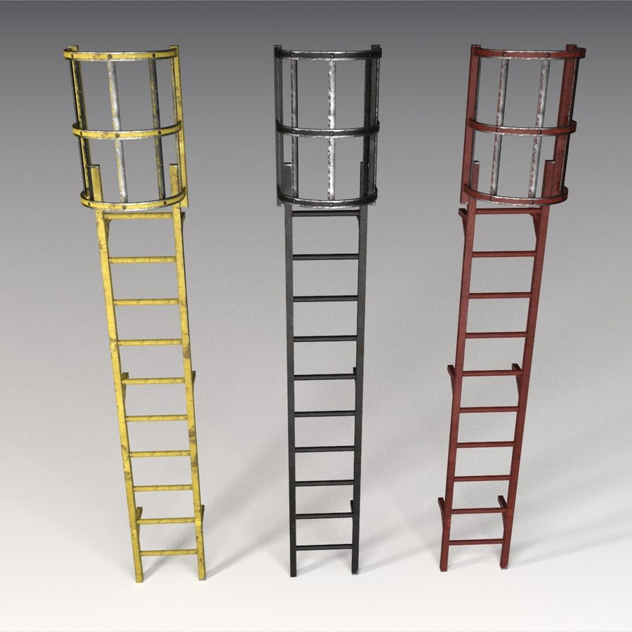 Ladders Collection 3D Model $9