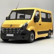 Renault Master Minibus 2015 3d model