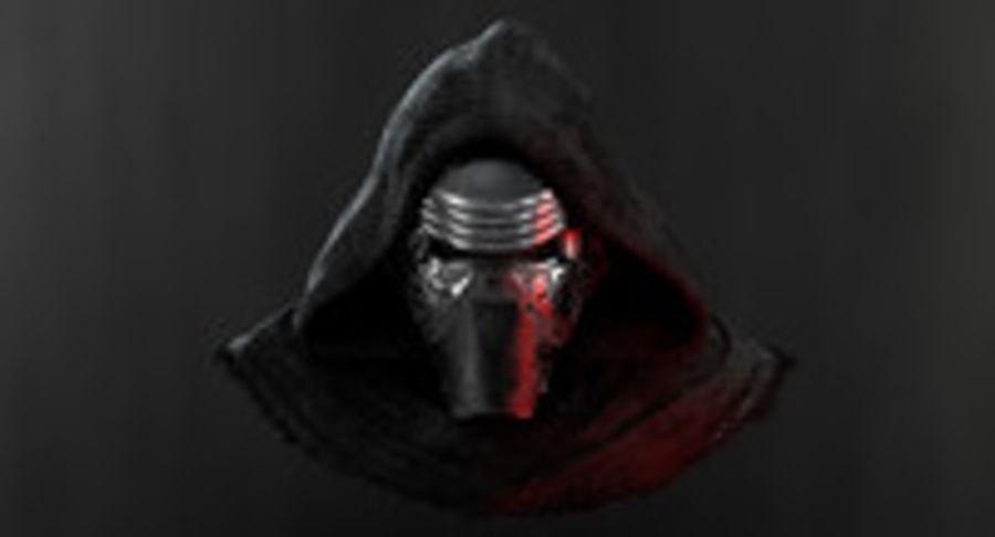Kylo Ren - Bust royalty-free 3d model - Preview no. 10