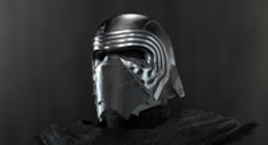 Kylo Ren - Bust royalty-free 3d model - Preview no. 6