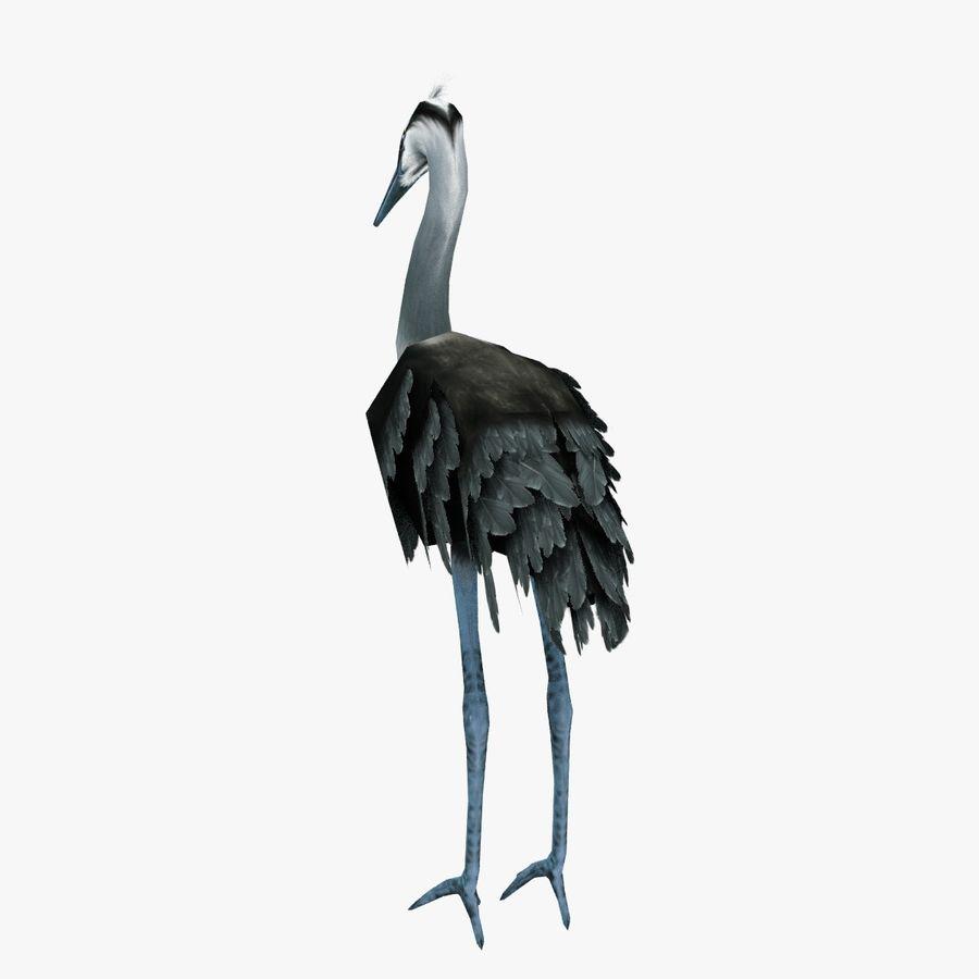 Heron royalty-free 3d model - Preview no. 3