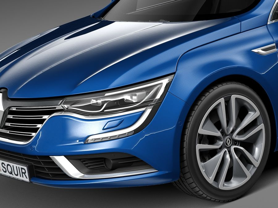 Renault Talisman Estate 2016 3d Model 129 Obj X Lwo Fbx