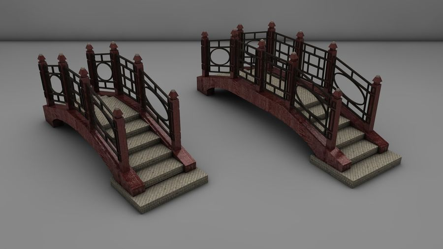 Bridge (2 size) royalty-free 3d model - Preview no. 1