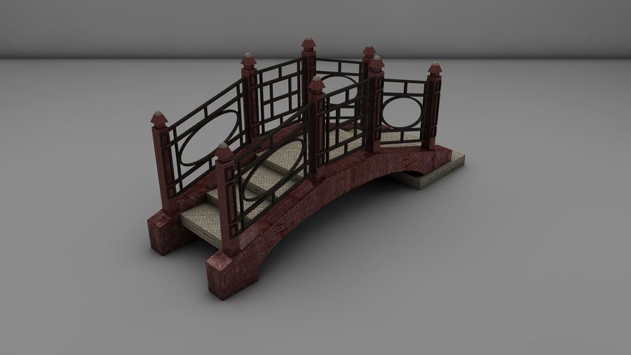 Bridge (2 size) royalty-free 3d model - Preview no. 5