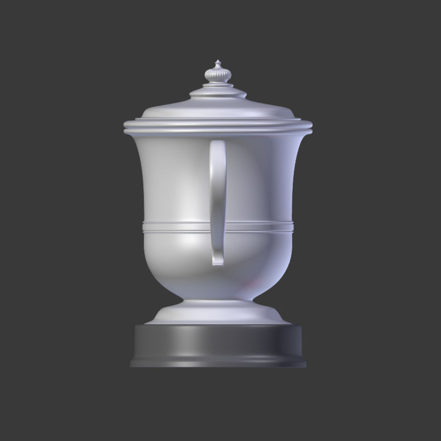 Trophy Cup V2 royalty-free 3d model - Preview no. 9