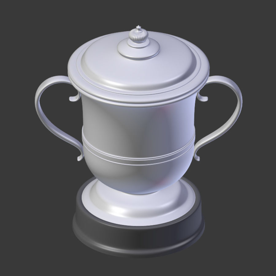 トロフィーカップV2 royalty-free 3d model - Preview no. 11