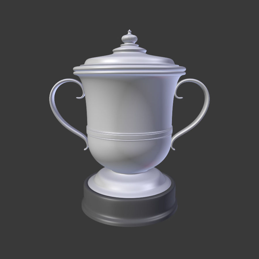 Trophy Cup V2 royalty-free 3d model - Preview no. 4
