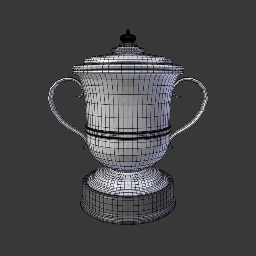 トロフィーカップV2 royalty-free 3d model - Preview no. 7